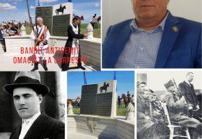 Un bandit antisemit, omagiat de conducerea PNL si de Primaria Durnesti printr-un monument de sute de milioane!